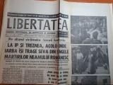 Libertatea 31 august-1 septembrie 1990-duel la distanta intre ghencea si giule..