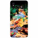 Husa silicon pentru Xiaomi Mi 8 Pro, Autumn Leaves