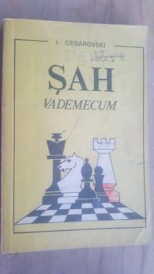 Sah Vademecum- I. Cegarovski foto