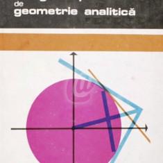 Culegere de probleme de geometrie analitica (1971)