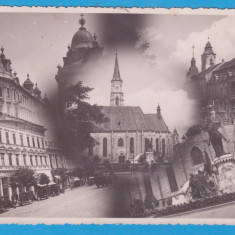 (20) CARTE POSTALA ROMANIA - CLUJ NAPOCA - PIATA UNIRII - 1935, Necirculata, Printata