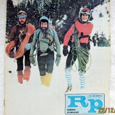 Romania Pitoreasca cu harta Mtii.Lotrului - feb. 1987