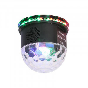 Glob cu lumini Astro LED, RGB, difuzor incorporat, Bluetooth, 3 W