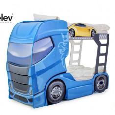 Pat camion DUO SCANIA 2 Albastru