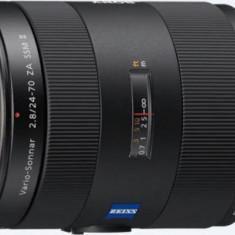 Obiectiv Sony Vario-Sonnar T ZA SSM II F2.8, 24-70 mm (Negru)