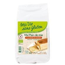 Amestec pentru Paine cu Quinoa Fara Gluten Bio 500gr Ma Vie Sans Gluten Cod: 3380380082771