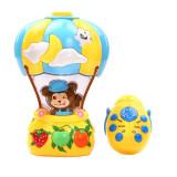 Lampa de veghe muzicala cu proiector Balloo NN 8505-3, Multicolor