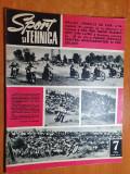 sport si tehnica iulie 1972-motocros,art. jud. alba,aeroclubul iasi,aviatie