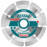 Disc diamantat de taiere, pentru beton, segmentat, diametru 125 mm, 2111253