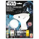 Star Wars - Pistol baloane de sapun, alb