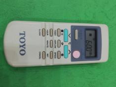 telecomanda aer conditionat marca TOYO foto