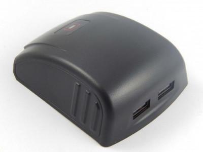 Acumulator-adapter mit 2x usb-anschluss passend pentru bosch 14.4v, 18v, , foto