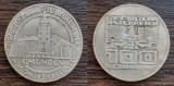 (A139) MONEDA DIN ARGINT AUSTRIA - 100 SCHILLING 1978, ANIV. 700 ANI GMUNDEN, Europa