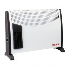 Convector electric Zass ZKH 02T, 2000 W, alb