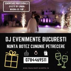 DJ Evenimente București - Nuntă | Botez | Cununie | Majorat | Petrecere