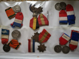 Colectie de medalii, decoratii  si embleme met. vechi, Banut