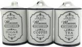 Set 3 recipiente ceramica pentru depozitare capac ceramica