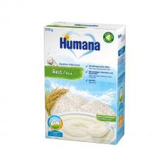 Cereale Orez cu lapte Humana, 200 g, 4 luni+