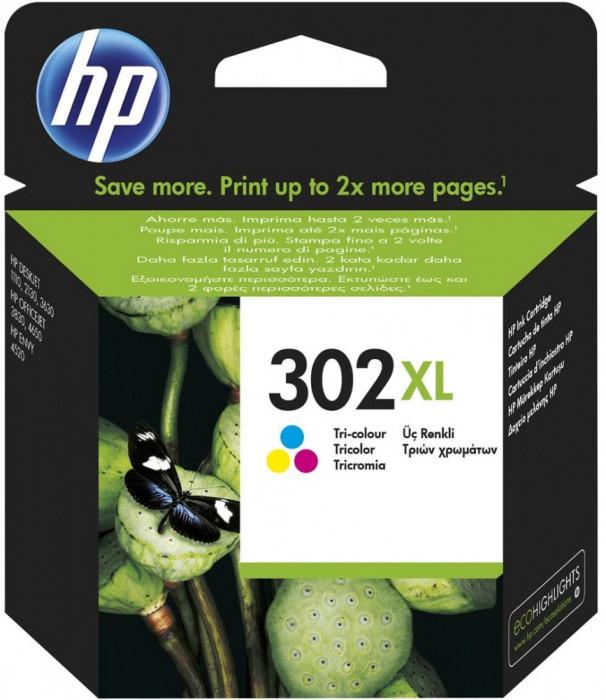 Cartus original HP302XL Color F6U67AE