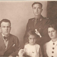Ofiter roman Brasov fotografie interbelica 1934