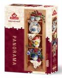 Puzzle Heidi 1000 Panoramic Nostalgia Corner - BARBARA MOCK