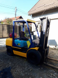 Stivuitor Komatsu, 3 tone, anvelope noi, revizii facute, Marko