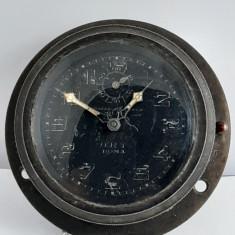 Ceas de bord avion Italia ,Mecanism Swiss, Vogtle Malanca Milano O.R.T