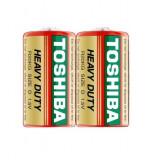 Baterie Toshiba Heavy Duty D R20 1,5V zinc carbon set 2 buc.