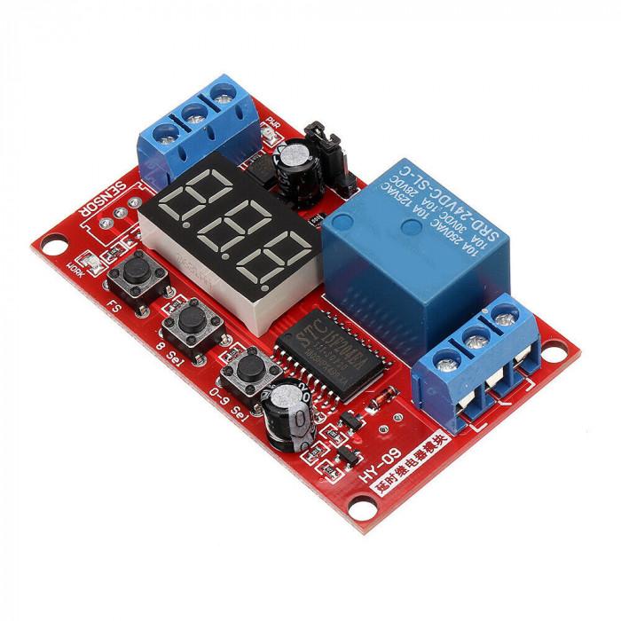Modul releu temporizator 5V cu afisaj LED OKY3011-10-5
