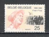 Belgia.1990 100 ani Ziua Muncii  MB.878