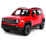 Masinuta Maisto Jeep Renegade, 1:24 - Rosu