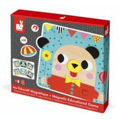 Joc magnetic educativ din lemn - Animale