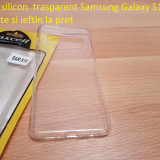 Husa silicon  trasparent Samsung Galaxy S10 calitate si ieftin la pret, Alt model telefon Samsung, Transparent