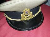 Cascheta militara veche cu emblema coifura,1995,starea care se vede,T.GRATUIT