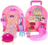 Casa pentru papusi Barbie - OKAZIE, Multicolor