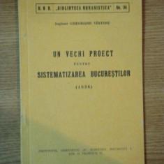 Un vechi proiect pentru sistematizarea bucurestilor (1836) Gh. Virtosu samnatura