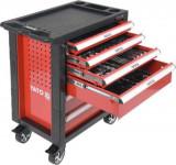 Dulap profesional cu 6 sertare echipat cu scule 958 x 766 x 465 mm 177 piese YATO