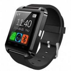 Smartwatch iUni U8+, BT, LCD 1.44 inch, Notificari, Negru