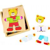 Joc de potrivire Domnul Urs, dezvolta imaginatia, 3 - 6 ani