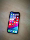 IPhone X 64gb Decodat 100% original 4G Acumulator Stare 100%, Negru, Neblocat, Apple