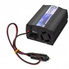 Invertor tensiune, Geko G17000, 12V DC/220V AC, 500 W, USB