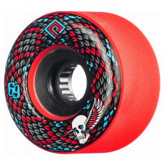 Set 4 roti Longboard Powell Peralta Snakes 69mm red