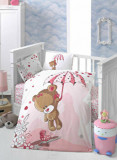 Set lenjerie de pat pentru copii Patik, din bumbac ranforce 100 procente, 100 x 150 cm, 170PTK2013