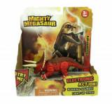Mighty Megasaur - Dinozauri cu lumi si sunete Triceratops, 20 cm, Dragon-I Toys