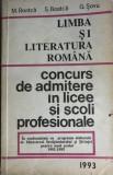 Limba si literatura romana concurs de admitere in liceu si scoli profesionale
