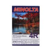 Cumpara ieftin Hartie foto Minolta 10x15, 270g, RC Premium Glossy, 100 coli