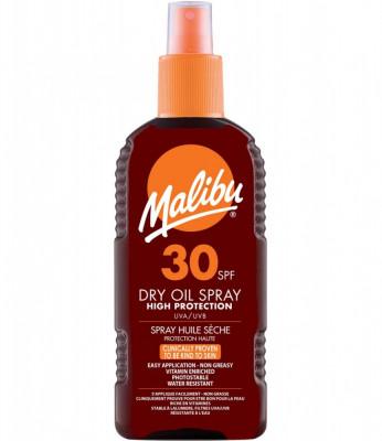 Ulei De Plaja Malibu Dry Oil Spray Cu SPF30 200 ml foto