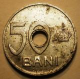 R.019 ROMANIA 50 BANI 1921, Aluminiu