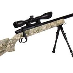 Pusca sniper airsoft calibru 6mm,luneta si tinta laser,500fps putere+bile bonus.