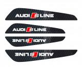 Set protectii usi Carbon 5D - Audi S-line, 4World